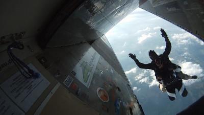 tandemmichl, tandem skydive; tandem jump, skydive jump, parachuting tandem, parachuting jump, parajumping tandem