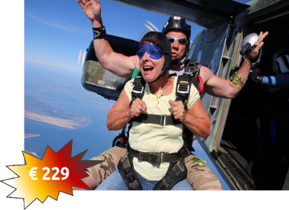 tandemmichl, skydive tandem; tandem jump, skydive jump, parachuting tandem, parachuting jump, parajumping tandem